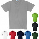 Tricouri polo promotionale unisex din bumbac - AP4136