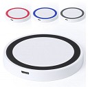 Incarcatoare promotionale wireless rotunde din ABS - V3767