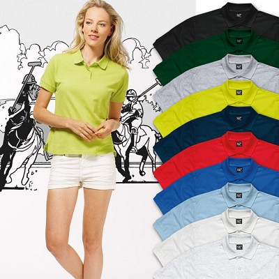 tricouri polo de dame promotionale SG50F colorate